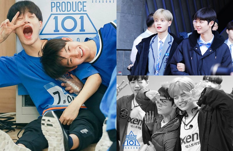 """7 Friendships From """"Produce 101 Season 2"""" That Will Melt"""
