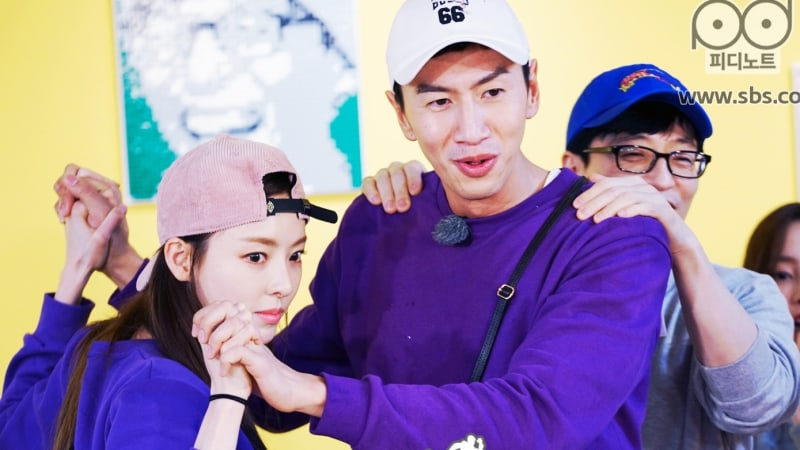 Image of: Lee Seung Actress Lee Da Hee Emerged As The Unexpected Star Of This Weeks Episode Of running Man After Hilarious Guest Appearance Aida2f Running Man Hits Peak Ratings With Lee Da Hee And Lee Kwang Soos
